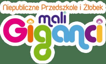 Logo Niepubliczne Przedszkole i Żłobek Mali Giganci w Bełchatowie – Grocholice